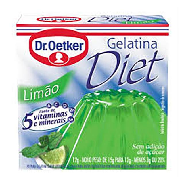 GELATINA DR.OETKER 12G DIET LIMAO