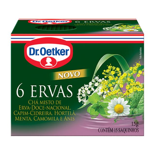 CHA DR.OETKER 10G 6 ERVAS C/10 SACHES