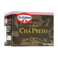 CHA DR.OETKER 18G PRETO C/10 SACHES
