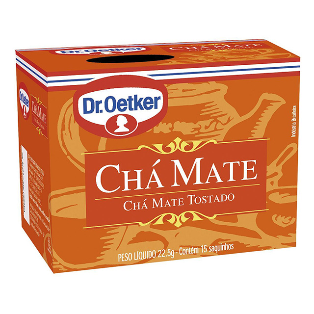 CHA DR.OETKER 15G MATE C/10 SACHES