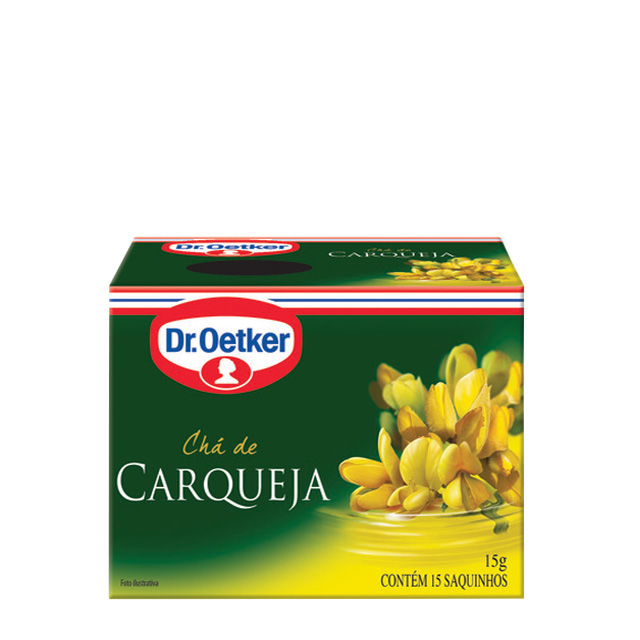 CHA DR.OETKER 15G CARQUEJA 15 SACHES