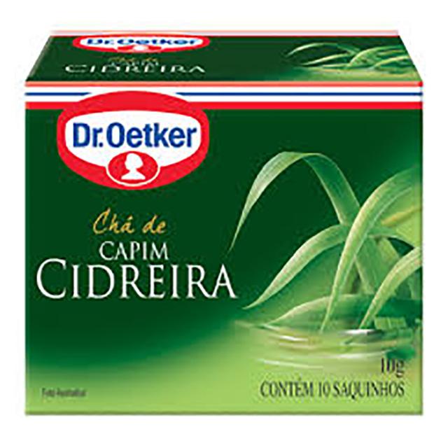 CHA DR.OETKER 10G CAPIM CIDREIRA 10 SACH