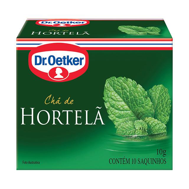 CHA DR.OETKER 10G HORTELA 10 SACHES