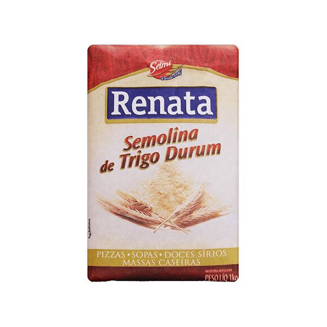 FARINHA DE TRIGO RENATA 1KG SEMOLINA