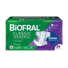 FRALDAS BIOFRAL CLASSIC G C/28UN