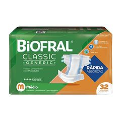 FRALDAS BIOFRAL CLASSIC M C/32UN