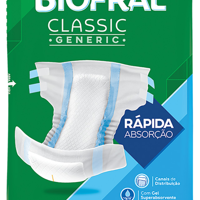 FRALDAS BIOFRAL CLASSIC EG C/07UN