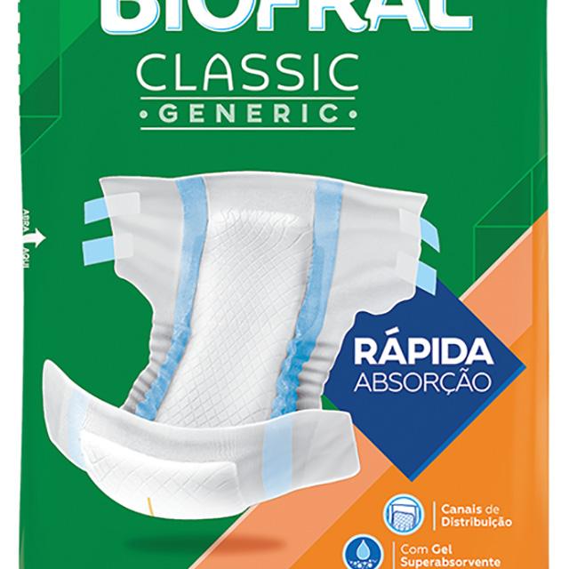 FRALDAS BIOFRAL CLASSIC M C/09UN