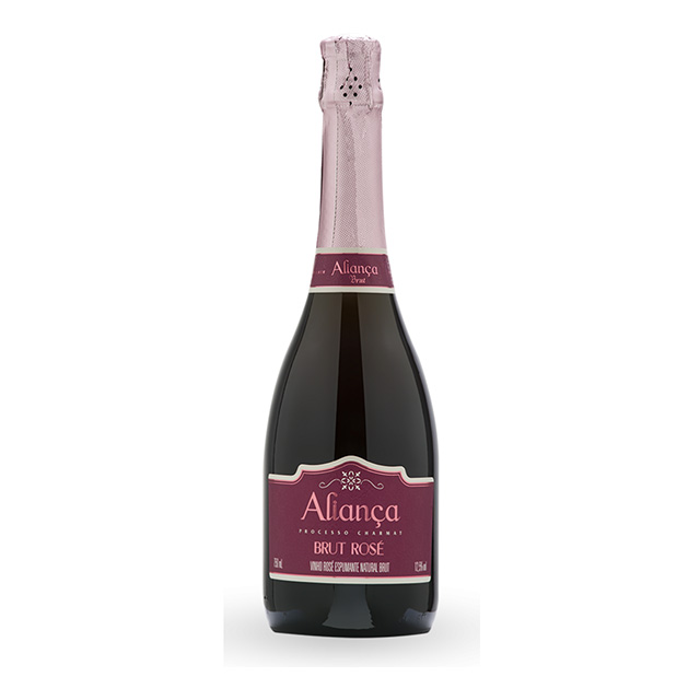 ESPUMANTE ALIANCA 750ML BRUT ROSE