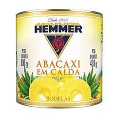 ABACAXI HEMMER 400G EM RODELAS LATA