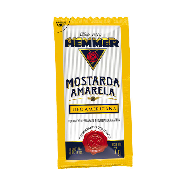 MOSTARDA HEMMER 7G AMARELA SACHE