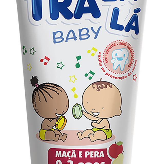 GEL DENT TRALALA BABY S/FLUOR MACA 70G