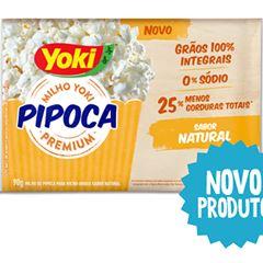 PIPOCA MICRO YOKI 90G NATURAL
