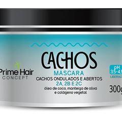 MASCARA PRIME HAIR 300G CACH/ONDUL/ABERTOS