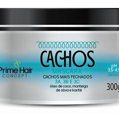 MASCARA PRIME HAIR 300G CACHOS + FECHADOS