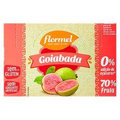 GOIABADA FLORMEL 24X20G ZERO