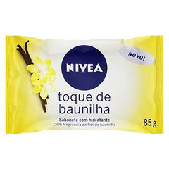 SABONETE NIVEA 85G HIDRATANTE TOQUE BAUN