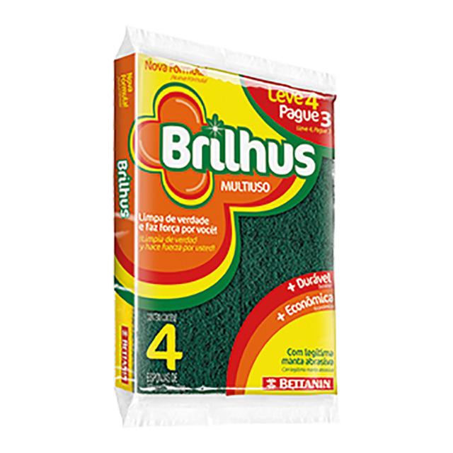 ESPONJA BETTANIN BRILHUS MULT L4P3 BT4514