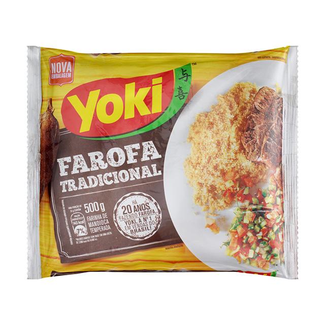 FARINHA MILHO YOKI 500G TEMP FAROFA