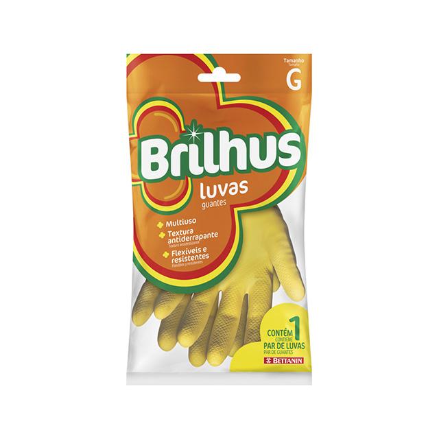 LUVA BETTANIN BRILHUS MULTIUSO G LATEX