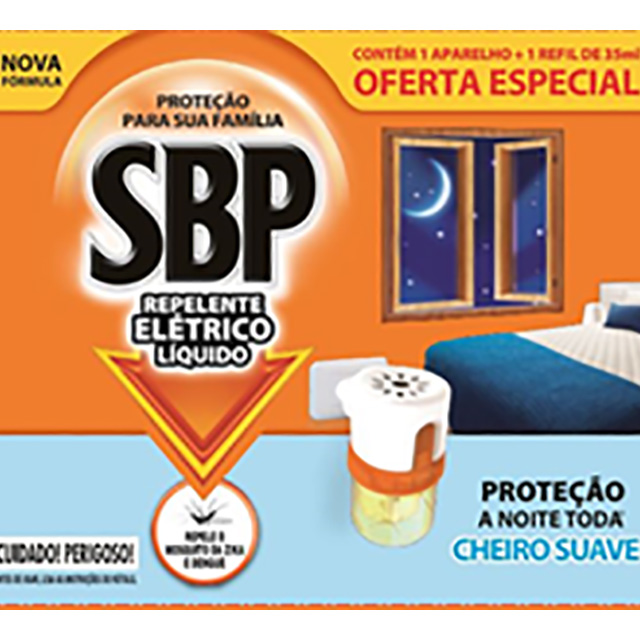 SBP LED AP+RF 35ML CHEIRO SUAVE
