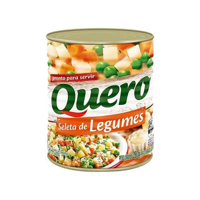 SELETA DE LEGUMES QUERO 170G LATA