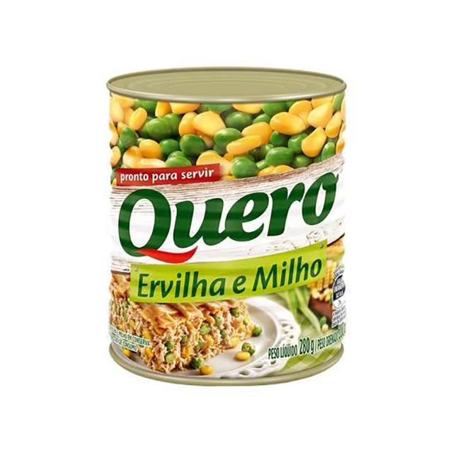 DUETO ERVILHA/MILHO QUERO 170G LATA