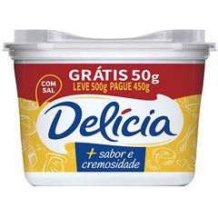 MARGARINA DELICIA L500G P450G CREM C/SAL
