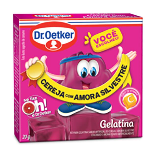 GELATINA DR.OETKER 20G CEREJA/AMORA SILV