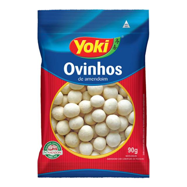 OVINHOS DE AMENDOIM C/COBERT DE POLV 90G