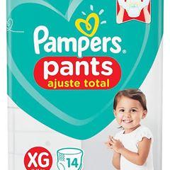 FRALDAS PAMPERS PANTS AT PTAO XG 14UN