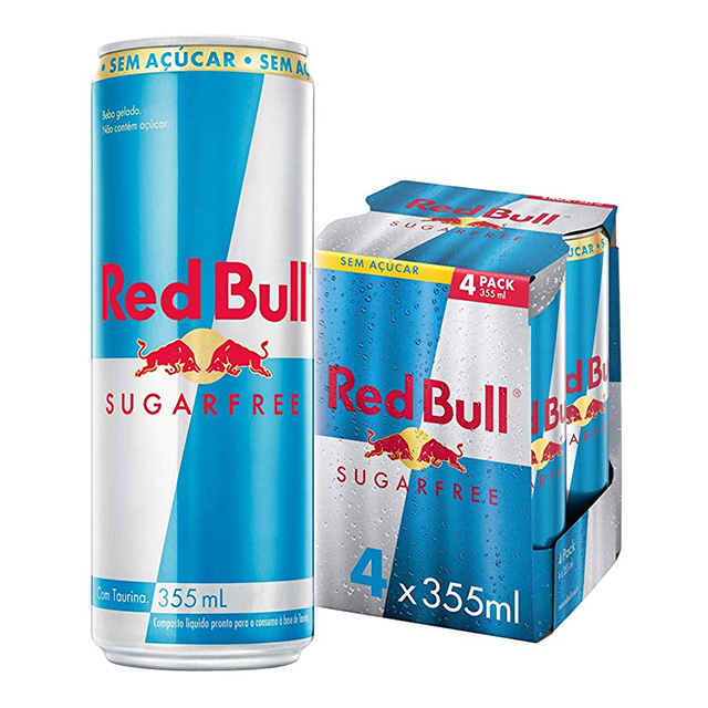 RED BULL ENERGY DRINK SUGARFREE 4X355ML