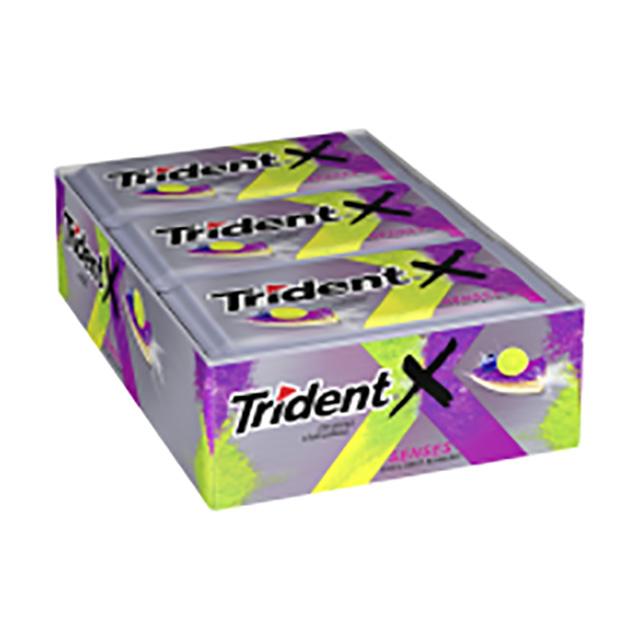 TRIDENT 21X8G X-BLUEBERRY CITRUS