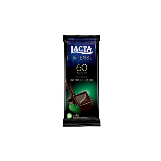 LACTA 17X85G 60% CACAU MENTA