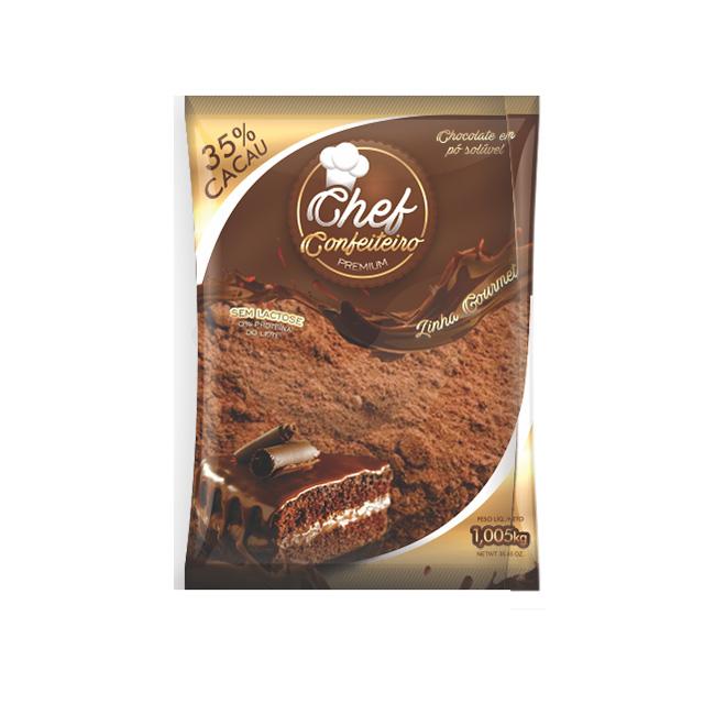 CHOCOLATE PO CHEF CONF 35% 1.005KG