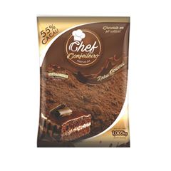 CHOCOLATE PO CHEF CONF 55% 1.005KG