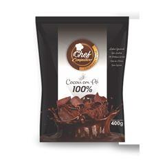 CACAU PO CHEF CONF 100% 400G PREMIUM