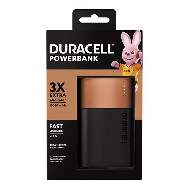 CARREGADOR DURACELL PORT POWERBANK 3X