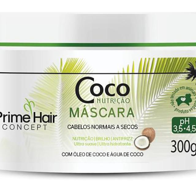 MASCARA PRIME HAIR 300G COCO NUTRICAO