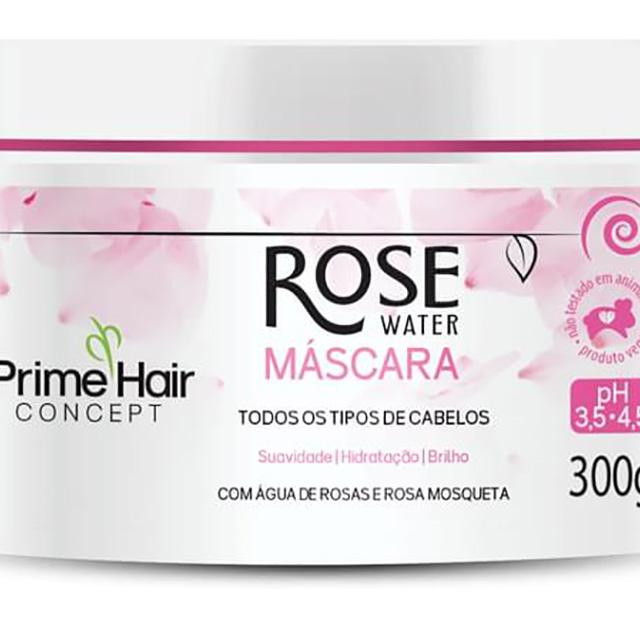 MASCARA PRIME HAIR 300G ROSE WATER