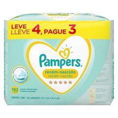 LENÇO UMED PAMPERS RECEM NASC L4P3