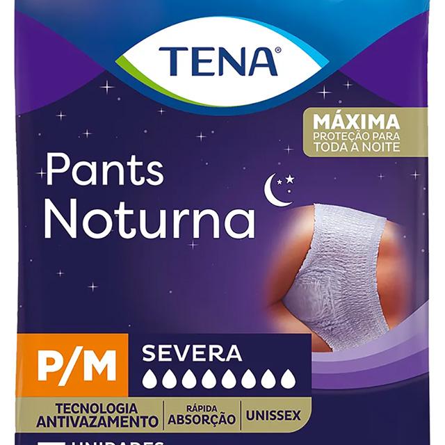 ROUPA INTIMA TENA PANTS NOTURNA P/M C/7UN