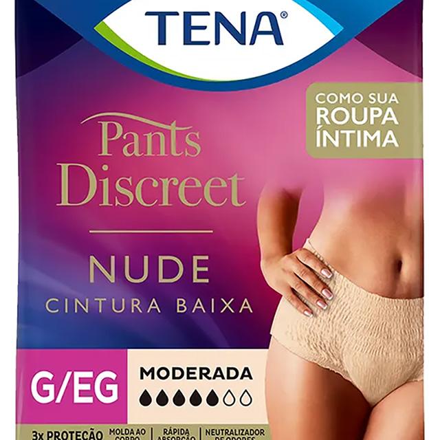 ROUPA INTIMA TENA PANTS DISC NUDE G/EG C/8UN