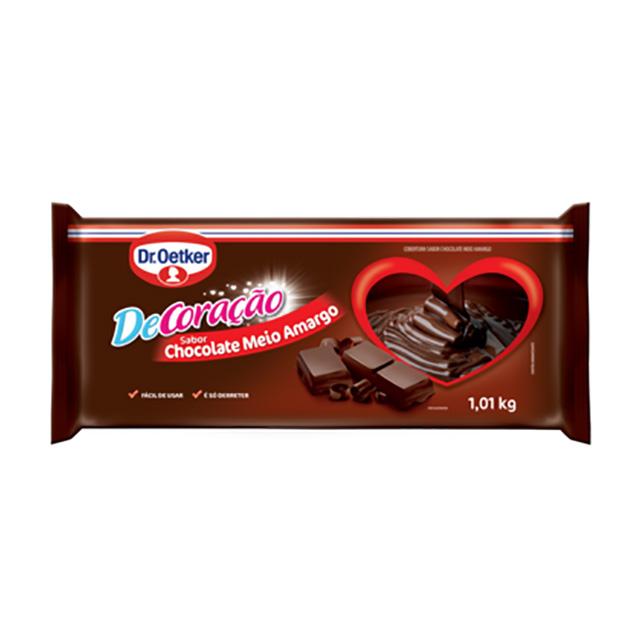 CHOCOLATE DR.OETKER 1.01KG MEIO AMARGO