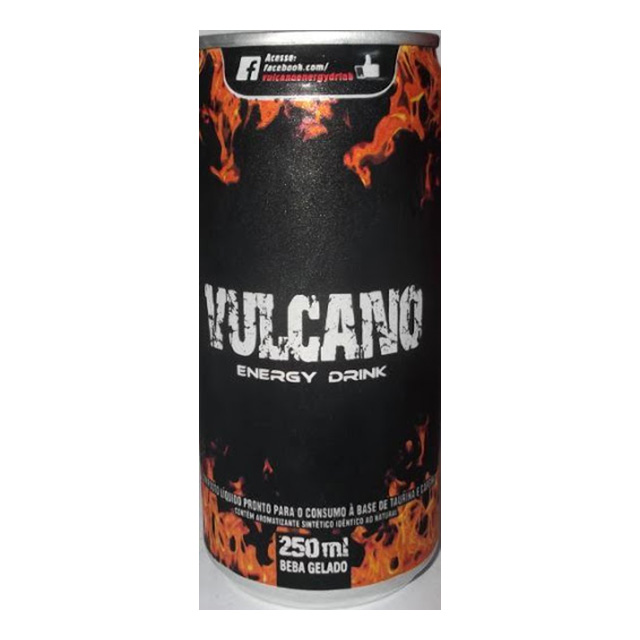 VULCANO ENERGY DRINK 250ML LATA