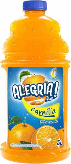 BEBIDA ALEGRIA FRUIT 3LT LARANJA