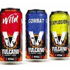 VULCANO ENERGY DRINK 473ML FRUIT PUNCH
