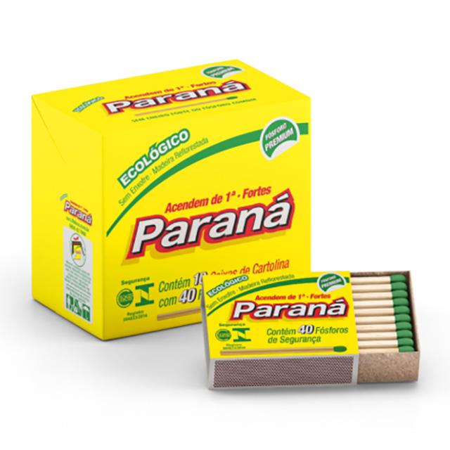 FOSFORO PARANA ECO CARTOLINA 10X40UN
