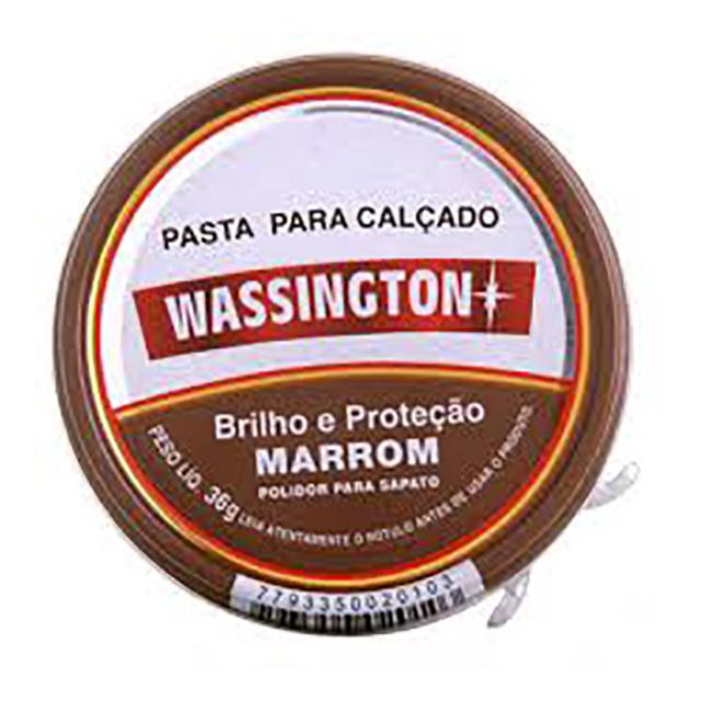 (I)PASTA P/CALCADO WASSINGTON 36G MARROM