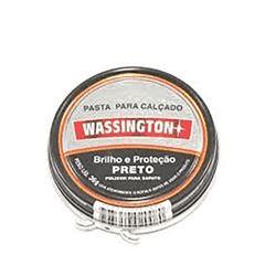 PASTA P/CALCADO WASSINGTON 36G PRETA